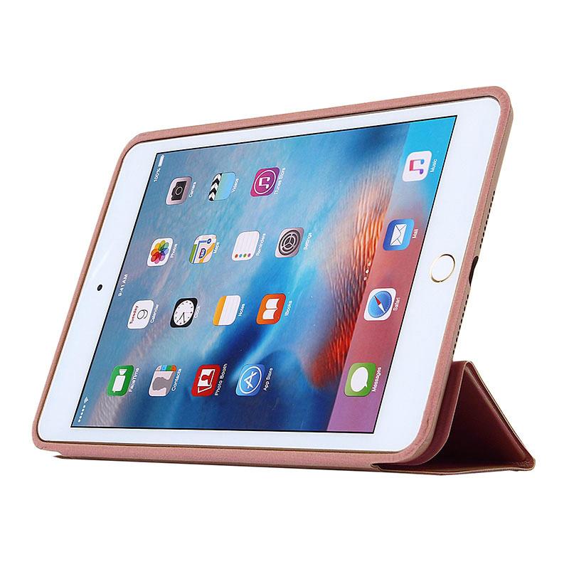 smart case rose gold ipad ini 4 bwoo apple ipad mini 4. Black Bedroom Furniture Sets. Home Design Ideas